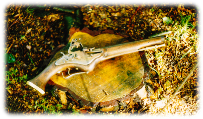 Reproduction Muzzleloading Flintlock